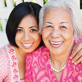 senior and caregiver stress management