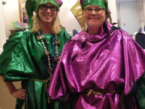 Mardi Gras Celebration at McKnight Place Skilled Nursing