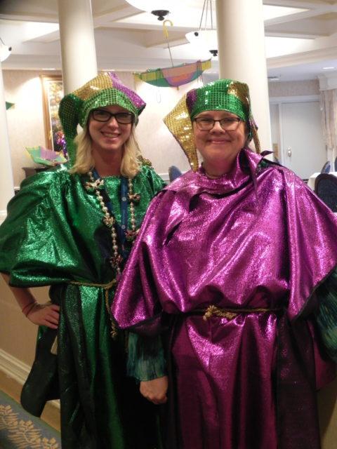 Mardi Gras Fat Tuesday Party Skilled Nursing St Louis