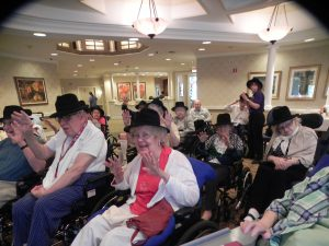 Residents Enjoy Bob Fosse Educational Program
