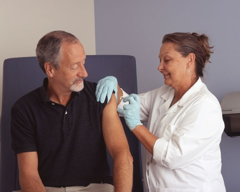 flu vaccine flu shot senior health community living nursing home