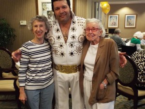 Mother's Day Visits and Entertainment by Elvis!
