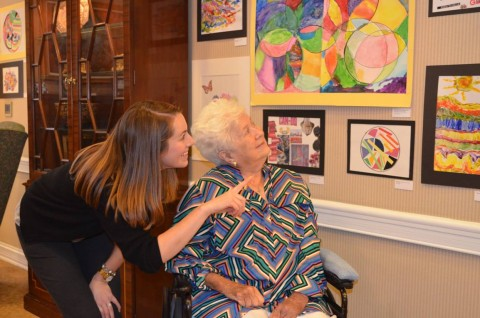 art therapy nursing home senior living st louis