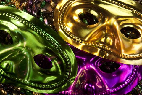 Mardi Gras Masks Senior Activities