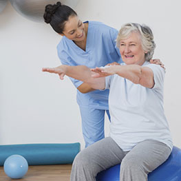 elderly exercise healthy seniors assisted living St. Louis