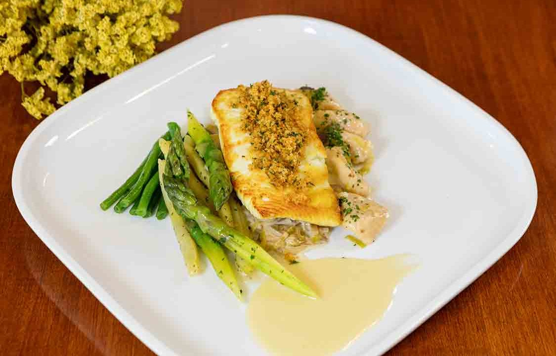 Pan-Seared Halibut