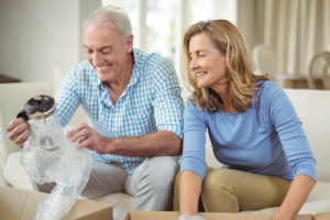 This story contains tips for moving a senior parent.