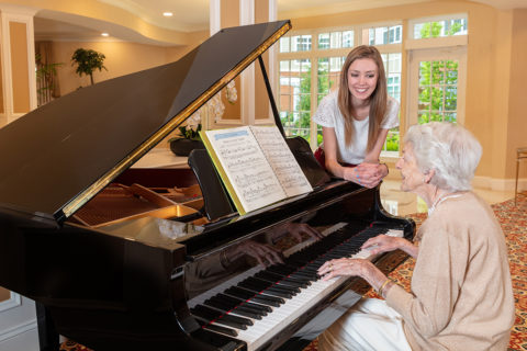 McKnight Place Assisted Living music program