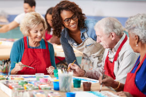 Art is essential for seniors