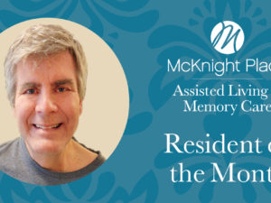 Resident of the Month: Terry Brungardt