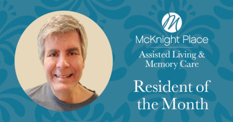 Terry Brungardt Resident of the Month Dec. 2019