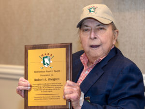 Resident Earns Prestigious Award from Local Golf Association